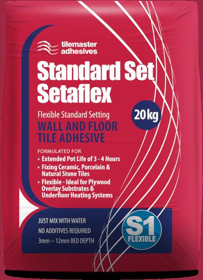 A 20kg bag of standard setaflex S1