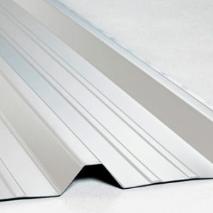 Galvenised box section sheeting