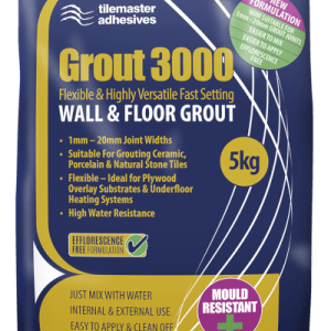 A 5kg bag of Wall and Floor Grout