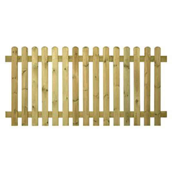 Wood Picket Fence Panels